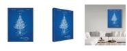 "Trademark Innovations Cole Borders 'Christmas Tree 2' Canvas Art - 47"" x 35"" x 2"""