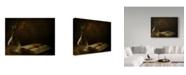 "Trademark Global Delphine Devos 'In The Dark Of My Days' Canvas Art - 19"" x 2"" x 14"""