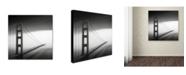 "Trademark Global Dave MacVicar 'Into The Mystic' Canvas Art - 14"" x 14"" x 2"""