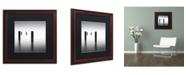 "Trademark Global Dave MacVicar 'Lucid' Matted Framed Art - 16"" x 16"" x 0.5"""