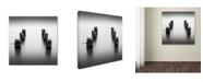 "Trademark Global Dave MacVicar 'Pillars' Canvas Art - 18"" x 18"" x 2"""