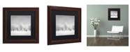 "Trademark Global Dave MacVicar 'Ice Storm' Matted Framed Art - 11"" x 11"" x 0.5"""