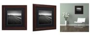 "Trademark Global Dave MacVicar 'Low' Matted Framed Art - 11"" x 11"" x 0.5"""