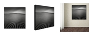 "Trademark Global Dave MacVicar 'Ripples' Canvas Art - 35"" x 35"" x 2"""