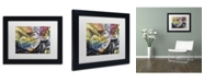 "Trademark Global Dan Monteavaro 'Coupon Stories' Matted Framed Art - 11"" x 14"" x 0.5"""
