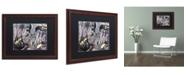 "Trademark Global Dan Monteavaro 'And Only' Matted Framed Art - 20"" x 16"" x 0.5"""