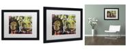 """Trademark Global Dan Monteavaro 'Another War' Matted Framed Art - 16"""" x 20"""" x 0.5"""""""