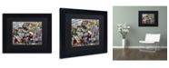 "Trademark Global Dan Monteavaro 'Mimosas' Matted Framed Art - 11"" x 14"" x 0.5"""