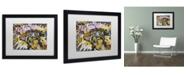 "Trademark Global Dan Monteavaro 'Surprise B' Matted Framed Art - 16"" x 20"" x 0.5"""