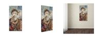 "Trademark Global Ines Kouidis 'Babyface I' Canvas Art - 47"" x 24"" x 2"""