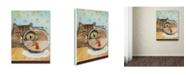 "Trademark Global J Hovenstine Studios 'Cat Series #3' Canvas Art - 47"" x 35"" x 2"""