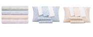 AQ Textiles CLOSEOUT! Modernist Printed Shell 6-Pc Sheet Sets, 300 Thread Count Cotton Blend