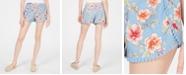 Be Bop Juniors' Printed Pom Pom Soft Shorts