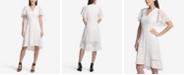 DKNY Lace High-Low A-Line Dress