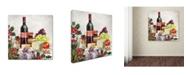 "Trademark Global The Macneil Studio 'Xmas Food' Canvas Art - 18"" x 18"" x 2"""