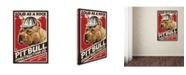 "Trademark Global Lantern Press 'Dogs 2' Canvas Art - 32"" x 22"" x 2"""