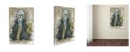 "Trademark Global Michelle Campbell 'Jon Pertwee' Canvas Art - 32"" x 22"" x 2"""