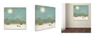 "Trademark Global Tammy Kushnir 'At Peace' Canvas Art - 18"" x 18"" x 2"""