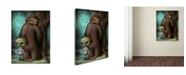 "Trademark Global Jason Limon 'Piss Stop' Canvas Art - 47"" x 35"" x 2"""