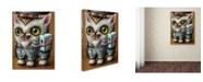 "Trademark Global Jason Limon 'Refusuffix 10' Canvas Art - 47"" x 35"" x 2"""