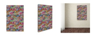 "Trademark Global Miguel Balbas 'Abstract 30715' Canvas Art - 24"" x 16"" x 2"""