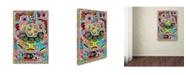 "Trademark Global Miguel Balbas 'Circuits XXI' Canvas Art - 32"" x 22"" x 2"""
