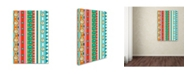 "Trademark Global Miguel Balbas 'Pattern B' Canvas Art - 32"" x 22"" x 2"""