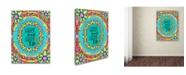 """Trademark Global Miguel Balbas 'Flower Power Life' Canvas Art - 24"""" x 18"""" x 2"""""""
