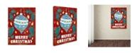"Trademark Global Summer Tali Hilty 'Holiday 3' Canvas Art - 47"" x 35"" x 2"""