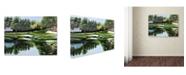 "Trademark Innovations Paul Walsh 'Masters' Canvas Art - 32"" x 24"" x 2"""