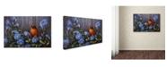 "Trademark Global Wanda Mumm 'Morning Calls' Canvas Art - 47"" x 30"" x 2"""