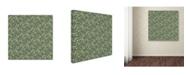 "Trademark Global Yachal Design 'Holly Wreath 201' Canvas Art - 35"" x 35"" x 2"""