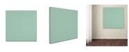 "Trademark Global Yachal Design 'Pink Blossoms 600' Canvas Art - 14"" x 14"" x 2"""