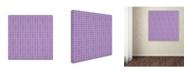 "Trademark Global Yachal Design 'Dancing Petals 600' Canvas Art - 35"" x 35"" x 2"""