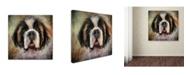 "Trademark Global Jai Johnson 'The Saint' Canvas Art - 18"" x 18"" x 2"""