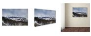 "Trademark Global Jai Johnson 'Winter Impressions In Colorado 6' Canvas Art - 19"" x 12"" x 2"""