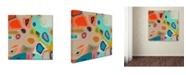 "Trademark Global Sylvie Demers 'Aerial' Canvas Art - 35"" x 35"" x 2"""