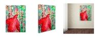 "Trademark Global Sylvie Demers 'Noel 2' Canvas Art - 47"" x 35"" x 2"""