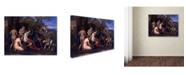 "Trademark Global Nicolas Poussin 'Mars And Venus' Canvas Art - 47"" x 35"" x 2"""