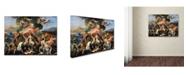 "Trademark Global Nicolas Poussin 'The Birth Of Venus' Canvas Art - 24"" x 18"" x 2"""