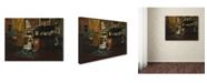 "Trademark Global William Merritt Chase 'Studio Interior' Canvas Art - 24"" x 18"" x 2"""