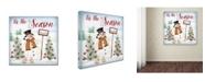 "Trademark Global Jean Plout 'Tis The Season' Canvas Art - 24"" x 24"" x 2"""