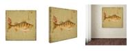 "Trademark Global Jean Plout 'Wilderness Lodge 6' Canvas Art - 14"" x 14"" x 2"""