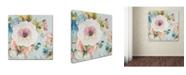 "Trademark Global Jean Plout 'Botanical Beauty 3' Canvas Art - 35"" x 35"" x 2"""