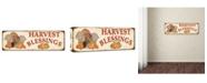 "Trademark Global Jean Plout 'Thanksgiving 3' Canvas Art - 47"" x 16"" x 2"""