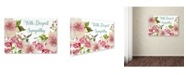 "Trademark Global Jean Plout 'Envelope 9' Canvas Art - 24"" x 16"" x 2"""