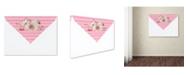 "Trademark Global Jean Plout 'Envelope 11' Canvas Art - 47"" x 35"" x 2"""