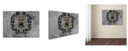 "Trademark Global Jean Plout 'Queen Bee 2' Canvas Art - 24"" x 18"" x 2"""