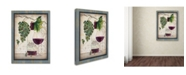 """Trademark Global Jean Plout 'Chateau Plout Wine 4' Canvas Art - 47"""" x 35"""" x 2"""""""