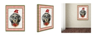 """Trademark Global Jean Plout 'Christmas Song Dogs 4' Canvas Art - 47"""" x 35"""" x 2"""""""